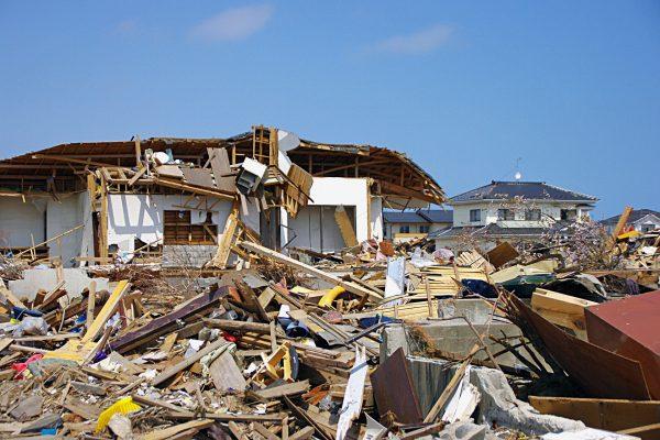 東日本大震災後72時間に起こった震度4以上の地震